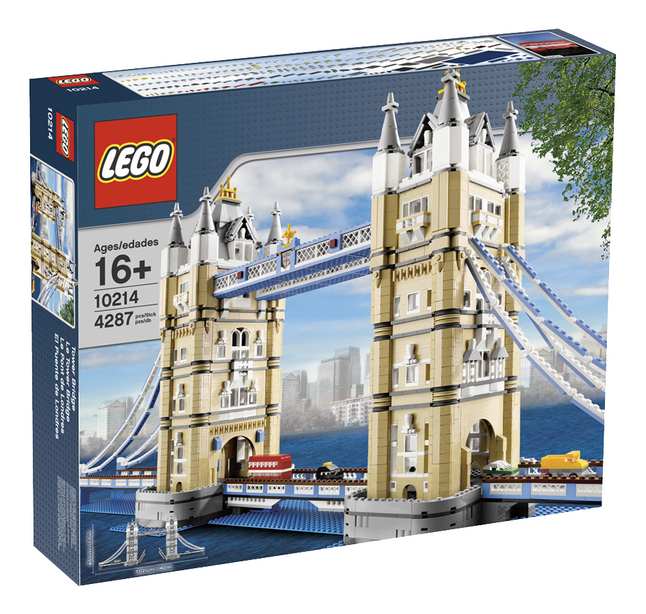 Afbeelding van LEGO Exclusive 10214 Tower Bridge from DreamLand