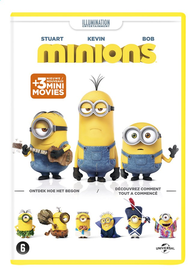 Afbeelding van Dvd Minions from DreamLand