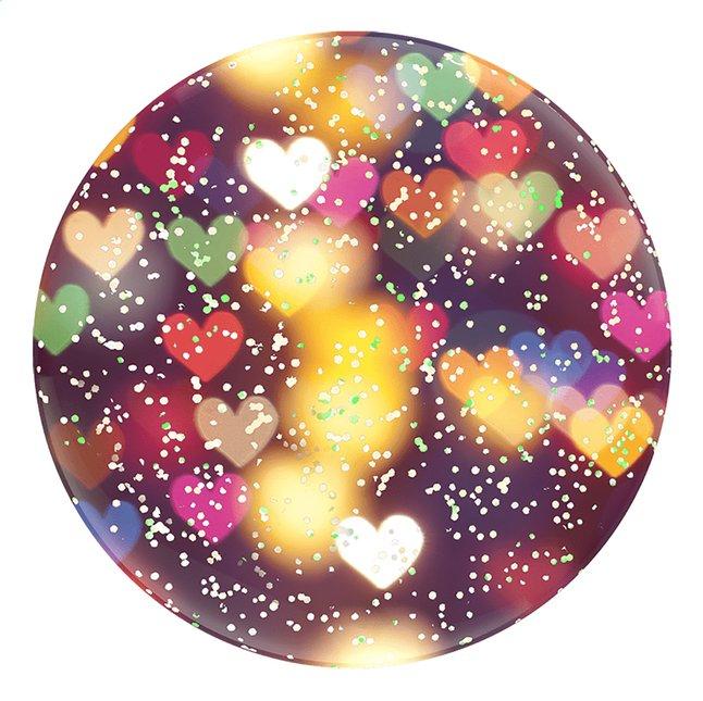 Afbeelding van PopSockets Phone grip Glitter Bokeh Hearts from DreamLand