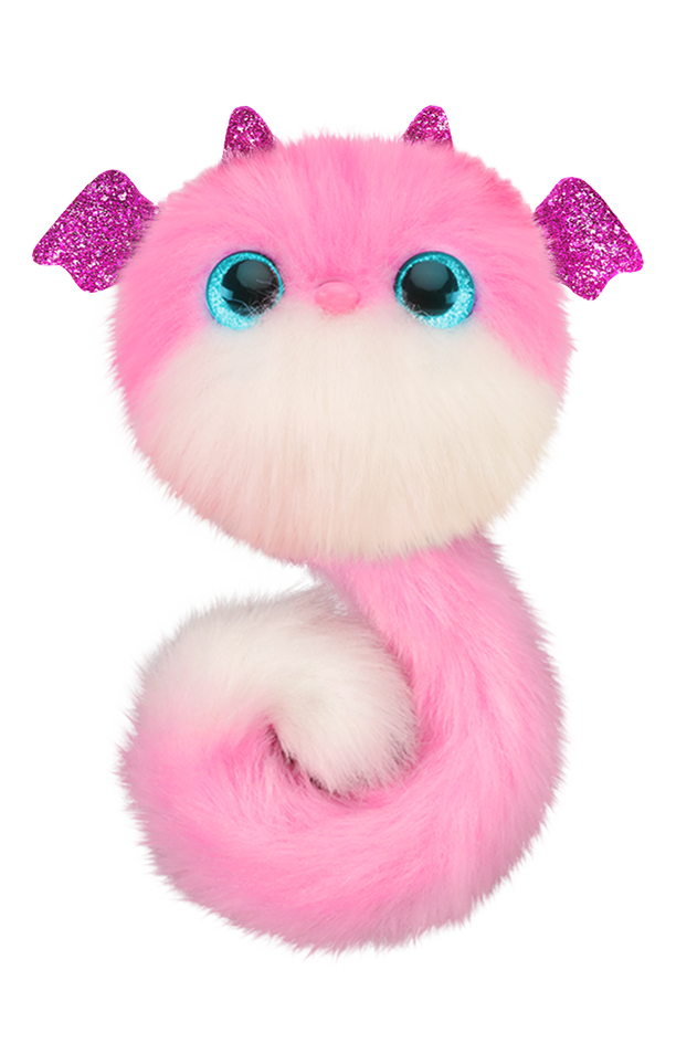 Bandai peluche interactive Pomsies - Lizzie