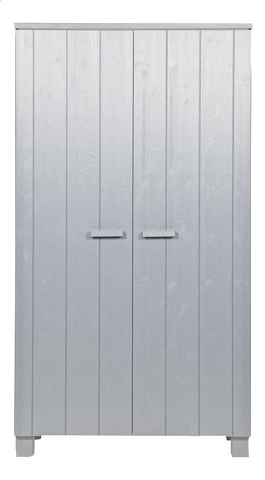Image pour Garde-robe 2 portes Dennis gris béton à partir de DreamLand