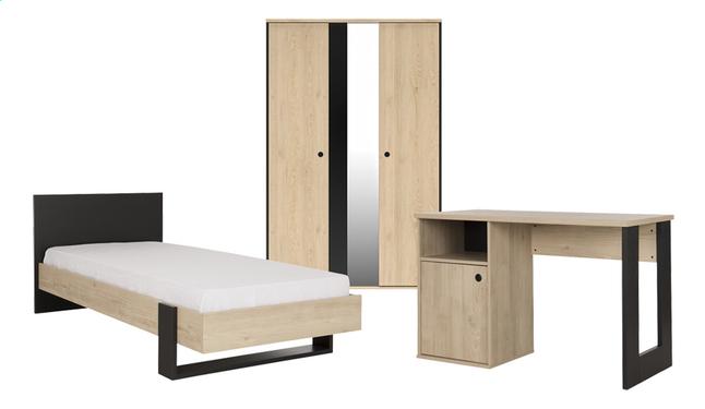 6x Plywood Kinderkamers : 3 delige kamer duplex dreamland