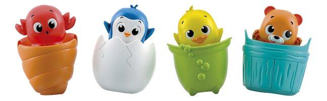 baby Clementoni jouet de bain Peekaboo Water Friends - 1 pièce