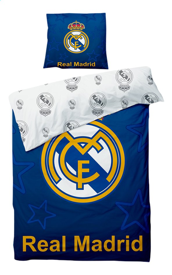 Image pour Housse de couette Real Madrid Polyester 140 x 200 cm à partir de DreamLand