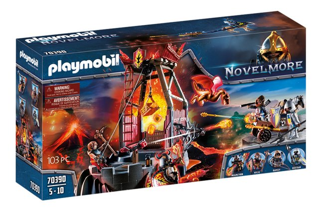 PLAYMOBIL Novelmore 70390 Burnham Raiders lavamijn
