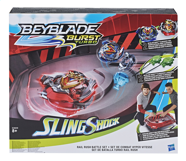 Afbeelding van Beyblade Burst Turbo - Rail Rush Battle set from DreamLand