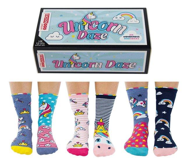 Afbeelding van United Odd Socks Unicorn Daze 6 sokken maat 30-38 from DreamLand