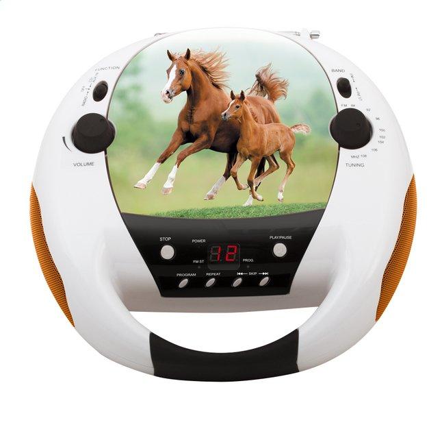 Afbeelding van bigben draagbare radio/cd-speler CD52 Paarden 2 from DreamLand