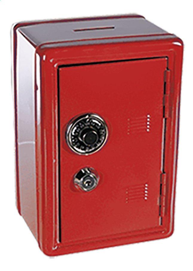 Afbeelding van Spaarpot metalen bankkluis rood from DreamLand