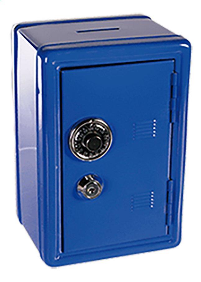 Afbeelding van Spaarpot metalen bankkluis blauw from DreamLand