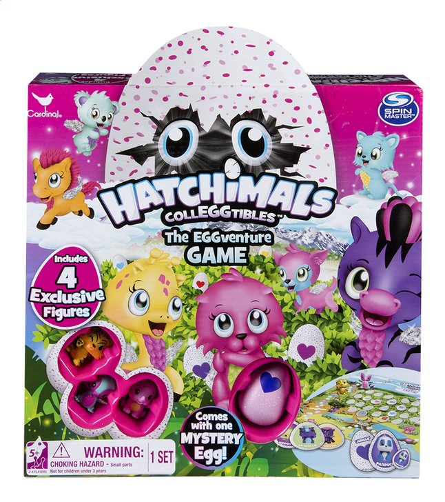 Afbeelding van Hatchimals CollEGGtibles The Eggventure game from DreamLand