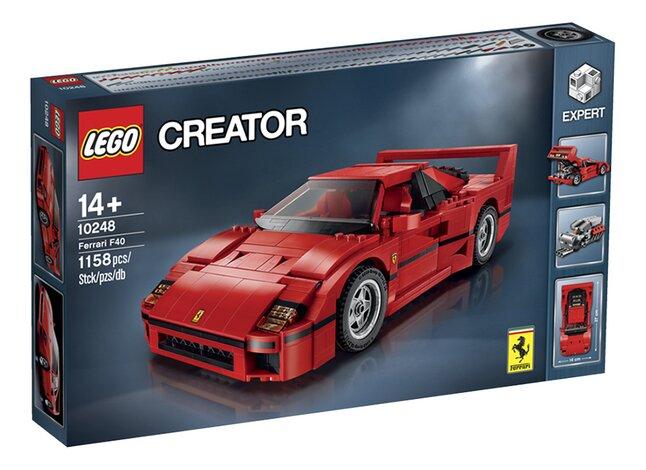 Afbeelding van LEGO Creator 10248 Ferrari F40 from DreamLand