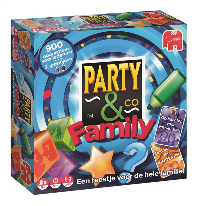 Afbeelding van Party & Co Family from DreamLand
