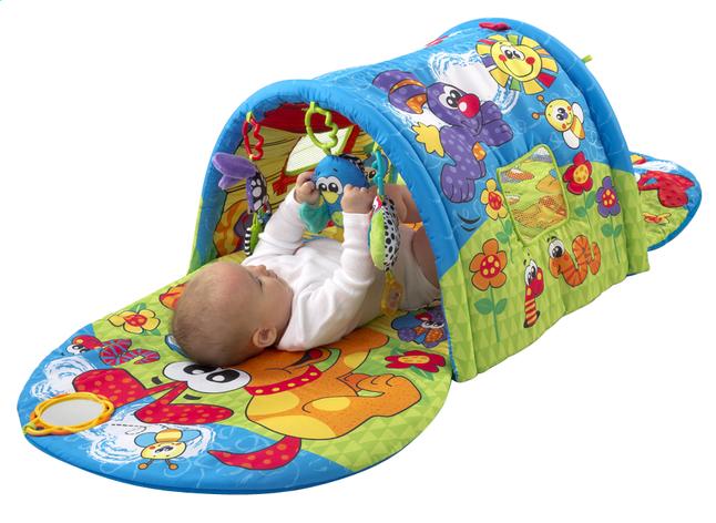 Afbeelding van Playgro speeltapijt/tunnel Puppy Playtime Tunnel Gym from DreamLand