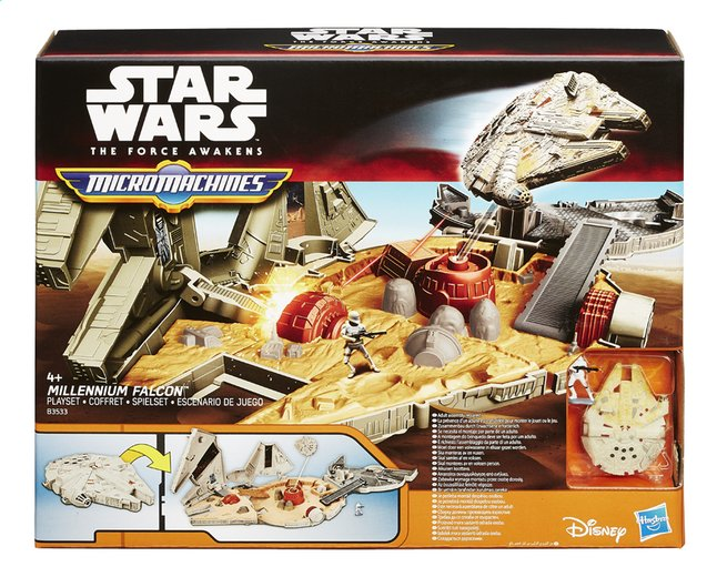 Afbeelding van Set Star Wars Micromachines Millennium Falcon from DreamLand