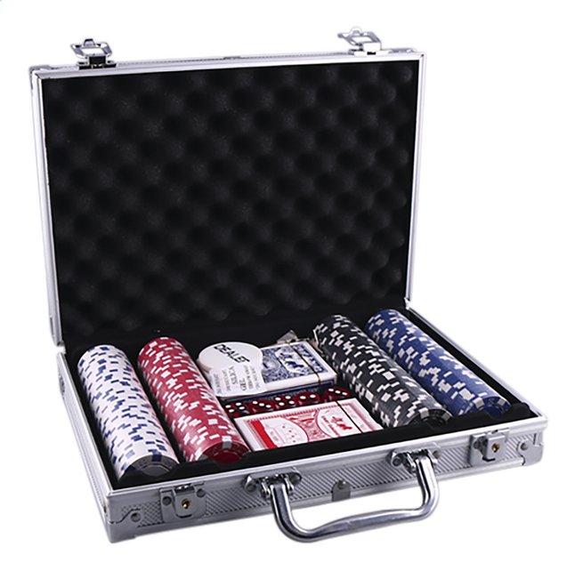 Afbeelding van Pokerspel met 200 chips from DreamLand